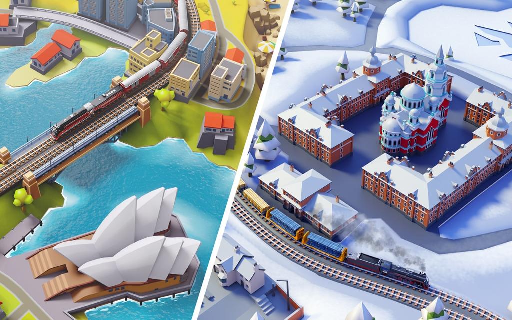 Game Kereta Api Terbaik di Android Train Station 2
