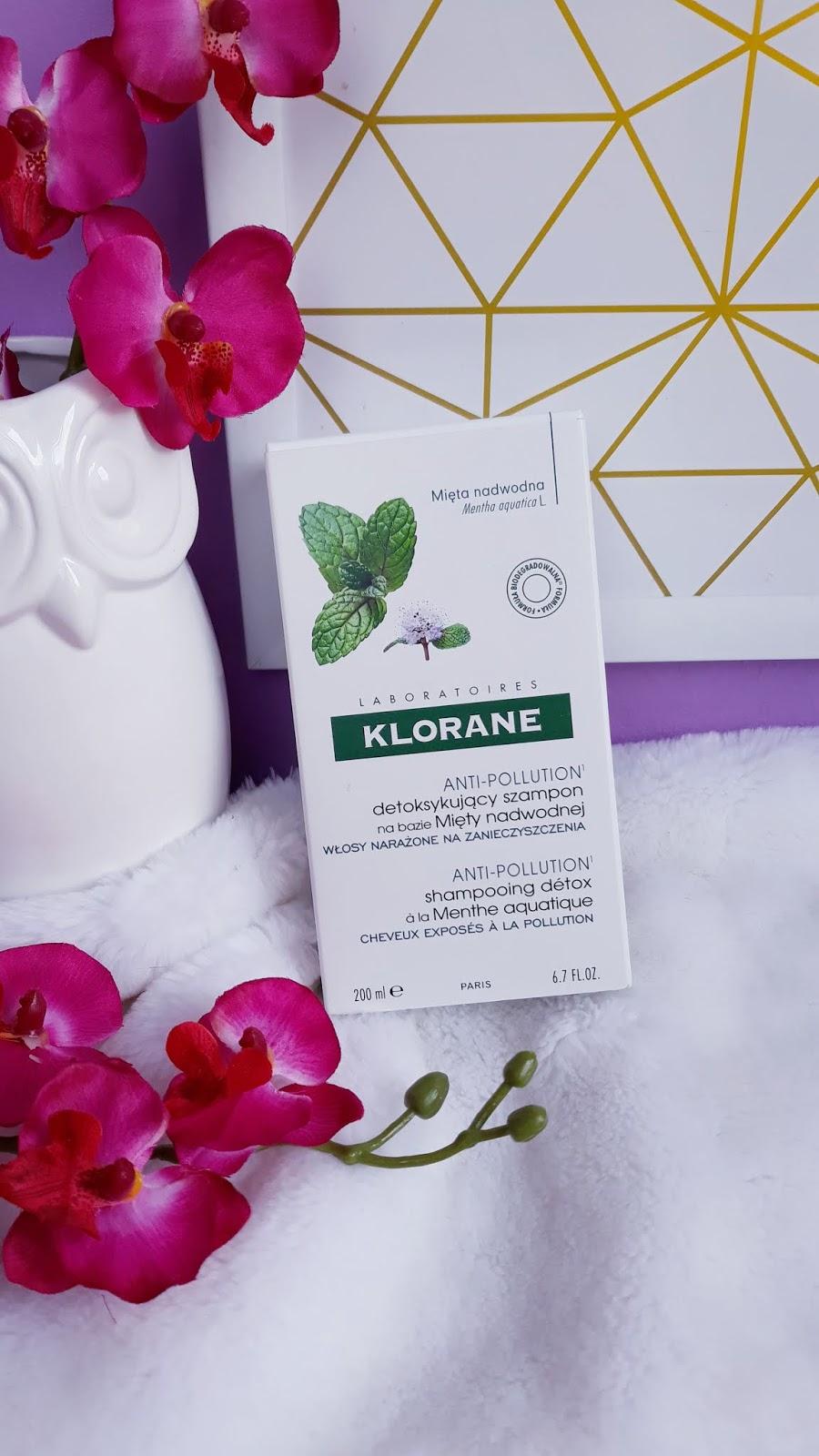 KLORANE szampon detoksykujący na bazie mięty nadwodnej www
