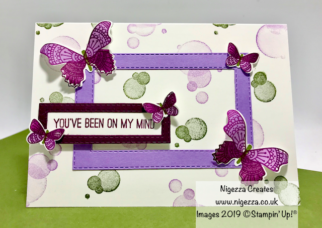 butterfly gala duet punch Stampin Up