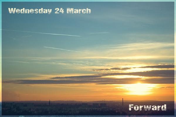 sunset or sunrise for forward prompt