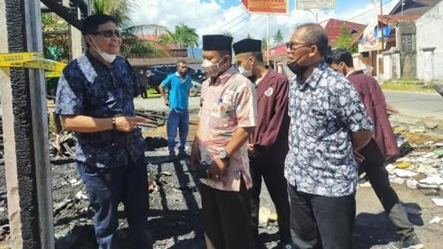 Kebakaran Sering Terjadi di Kota Padang, Ketua DPD LPM Irwan Basir Bilang Begini