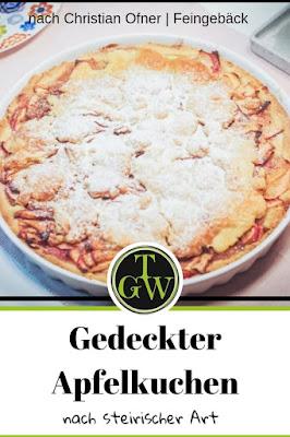 {Buchwerbung} Gedeckter Apfelkuchen aus Mürbteig #gedeckterapfelkuchen #mürbteig #apfel #backen #klassiker #österreichisch #steirisch