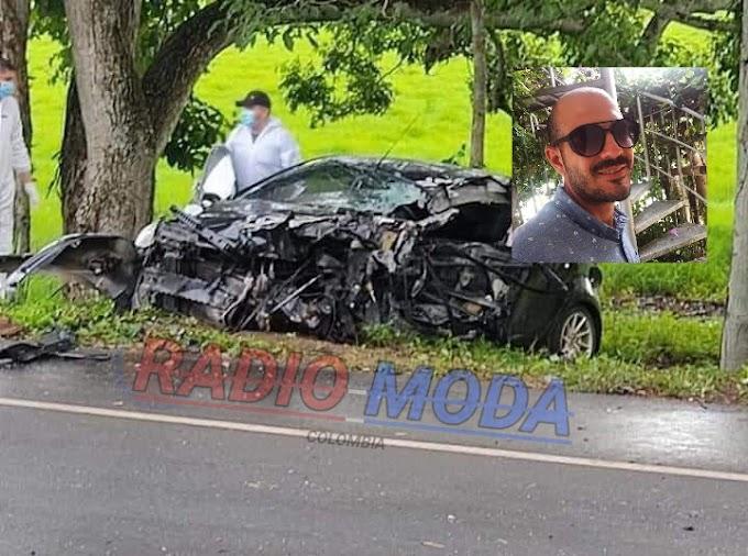 Se dirigía a una cita médica y murió en accidente de tránsito