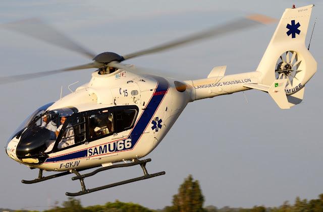 ec135 medical helicopter