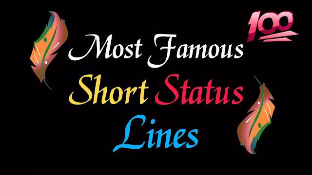 Short Lines Killer Status In Hindi