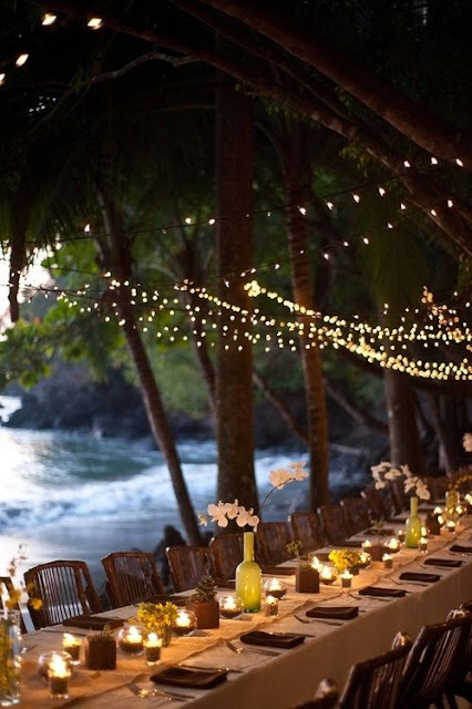 Idyllic Tables and Weddings on The Beach 5