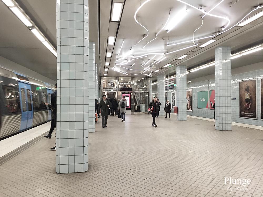 Metro station Stockholm