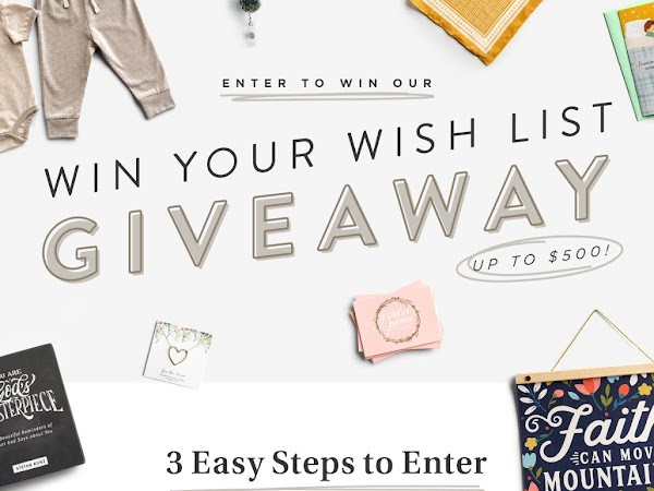 Win Your Dayspring Wish List- Up To $500!!