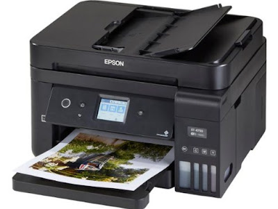 Epson EcoTank ET-4750 Review - Free Download Driver