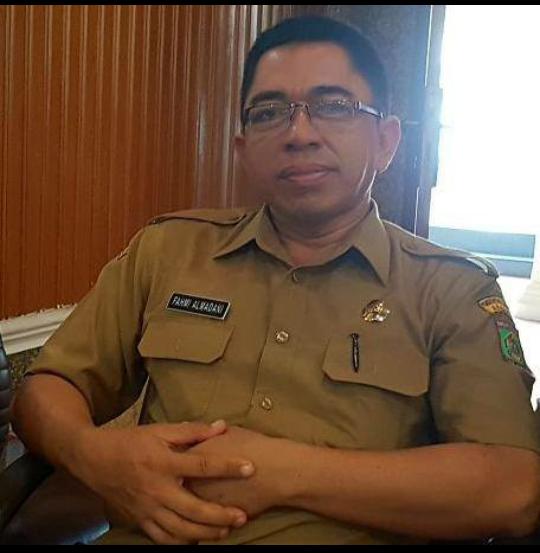 Sekretatis PUPR Asahan Fahmi.