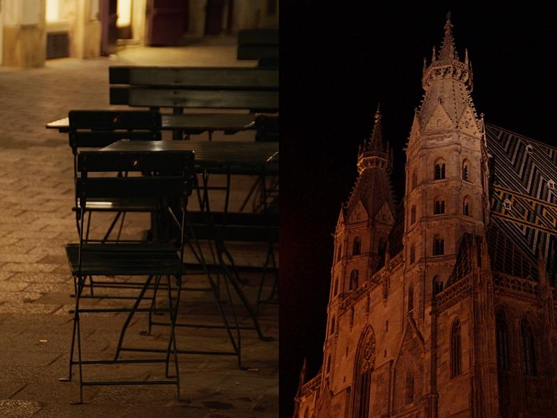 Vienna at night // Wien bei Nacht