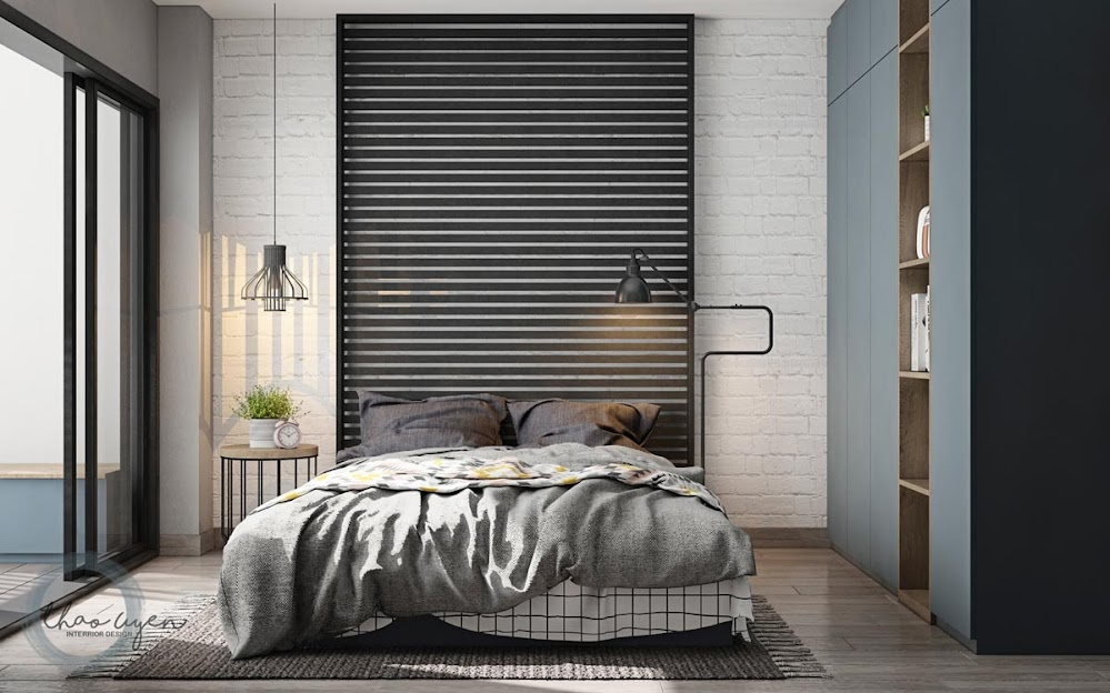 Industrial-bedroom-lighting