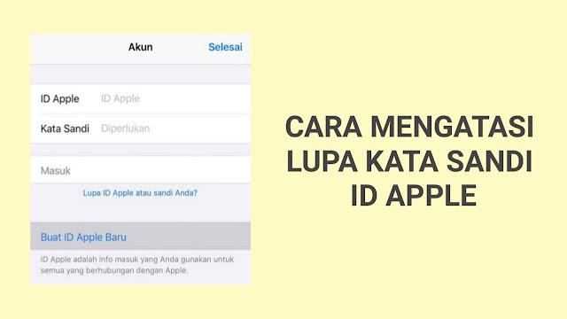 Mengatasi Lupa Password ID Apple (iCloud)