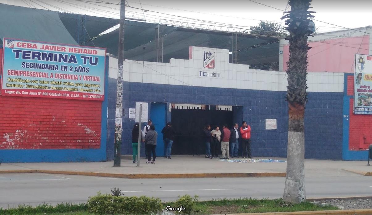 Colegio JAVIER HERAUD - San Juan de Miraflores