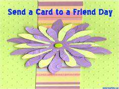 National Send a Card to a Friend Day Wishes Images download