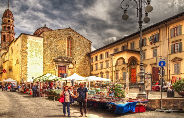 Pontos turísticos em Arezzo