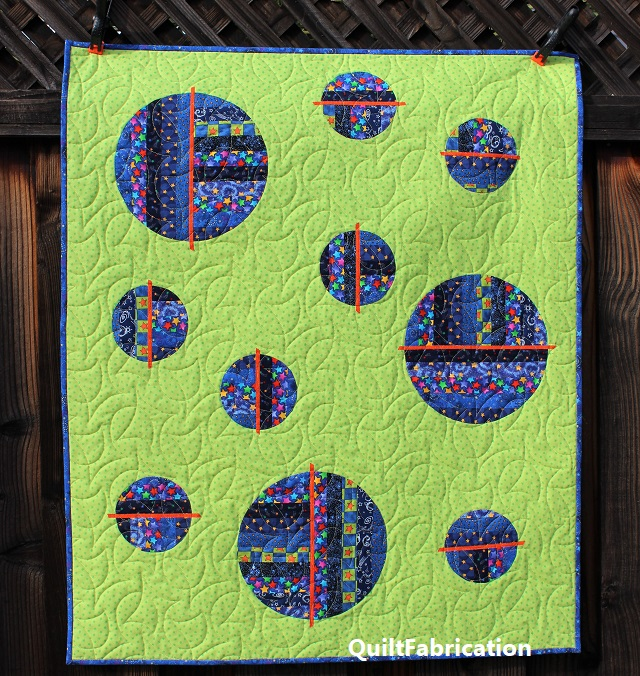 Going In Circles kid version by QuiltFabrication