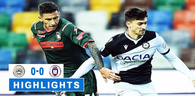 Udinese vs Crotone – Highlights