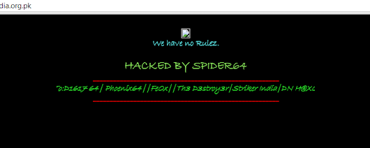Indian High Commission Pakistan Hacked         -          Hack Reports