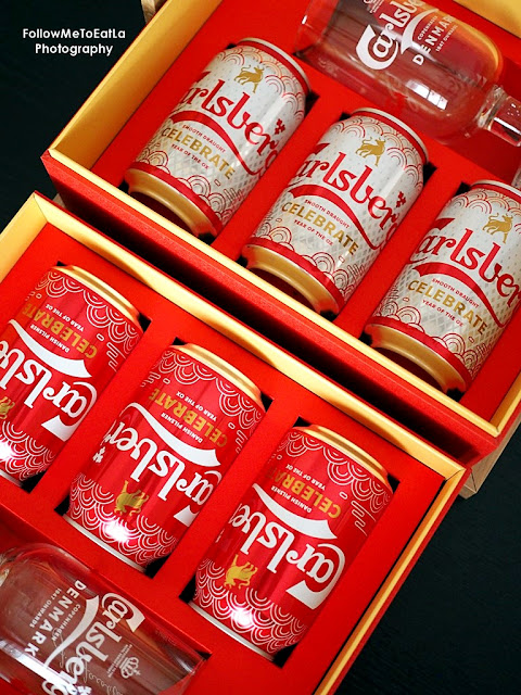 Carlsberg's 2021 Chinese New Year With Limited Edition Flaming Red & Fiery Carlsberg Danish Pilsner & Carlsberg Smooth Draught
