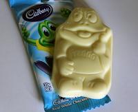 Freddo Frog white choc