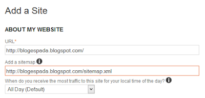 Cara Daftar dan Submit Sitemap di BING 4