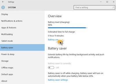 tips mengehmat baterai notebook