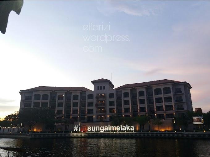 Backpacking Malaysia: Menutup Hari di Sungai Melaka (Part 3)