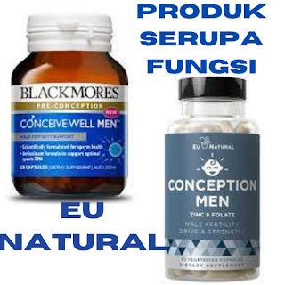 Eu natural diformulasikan dengan Organic KSM-66 Ashwagandha, Zinc, Magnesium, dan Folate Folic Acid untuk mendukung siklus reproduksi normal dan kehamilan.