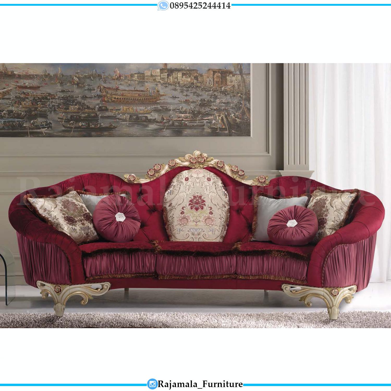 Set Sofa Tamu Mewah Jepara Luxury Carving Great Solid Wood RM-0271