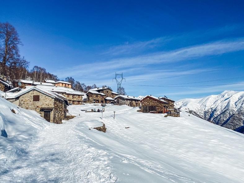 L'alpeggio di Monterecchio in Val Veddasca