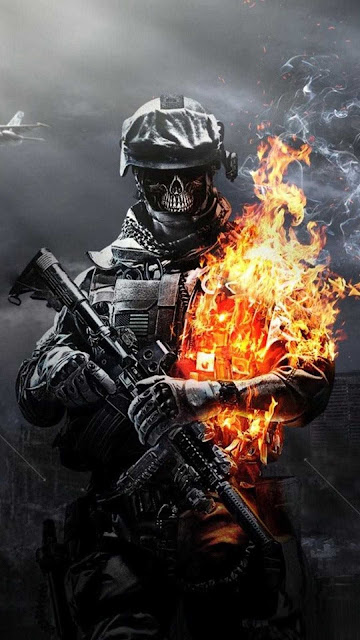 iphone call of duty wallpaper