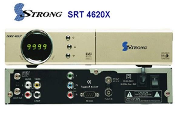 NOVA ATUALIZAÇÃO STRONG SRT 4620X  V192p / V105 -16/09/2016