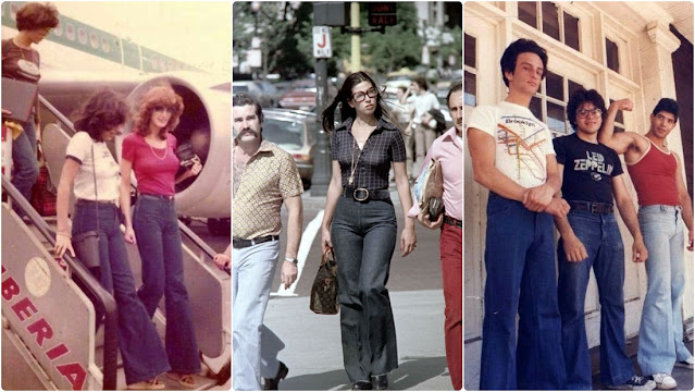 Cool Snaps of Young People in Bell-Bottoms From the 1970s