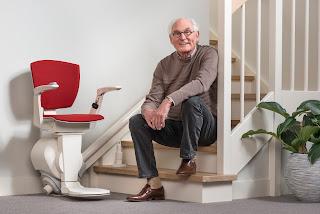 Krzesło dźwigowe dla seniorów