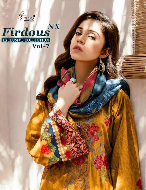 Shree Fab Firdous Vol 7 Nx Exclusive Collection