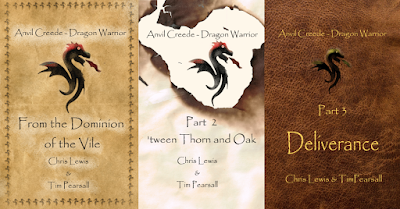 """""""Anvil Creede - Dragon Warrior"""" by Chris Lewis and Tim Pearsall on Amazon"""