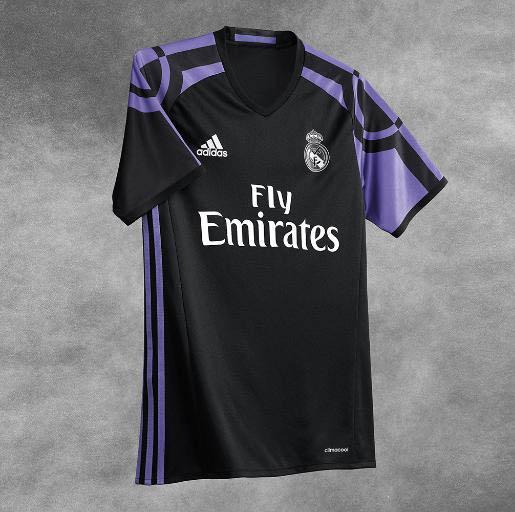 camiseta real madrid 2014-15 negra