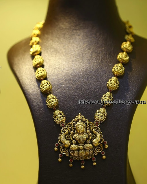 Silver Metal Ganesh and Krishna Necklaces