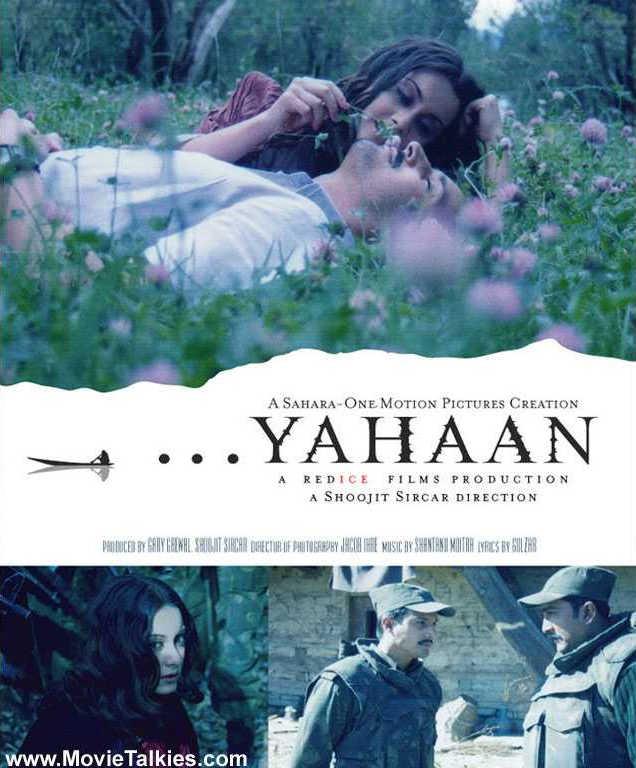 Yahaan (2005) Hindi Full Movie 480p HDRip 450MB