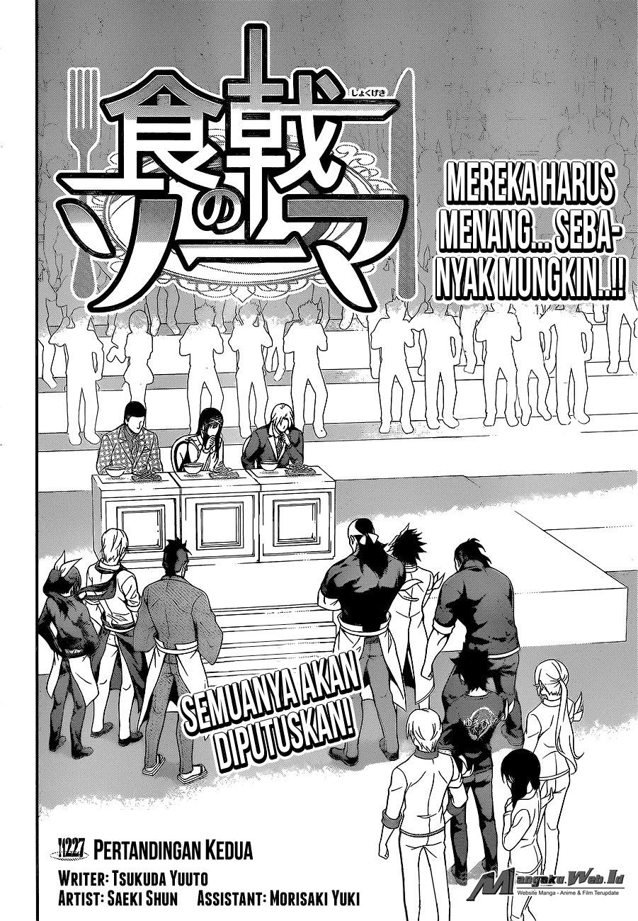 Shokugeki no Souma – Chapter 227 : Penjurian Di Mulai