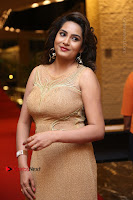 Actress Himaja Stills in Golden Spicy Long Dress at SIIMA Short Film Awards 2017 .COM 0284.JPG