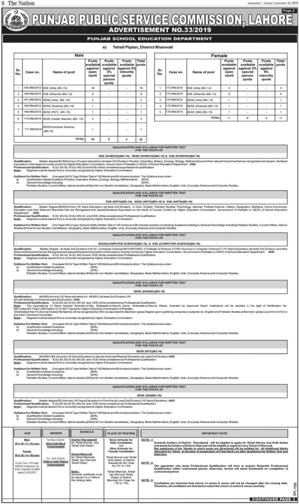 punjab educator jobs 2019