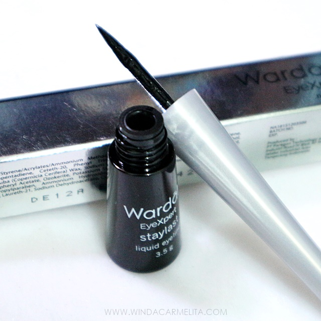 Wardah EyeXpert Staylast Liquid Eyeliner: Pantang Pergi