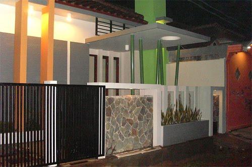 Home Decor Desain Pagar Rumah Minimalis Modern
