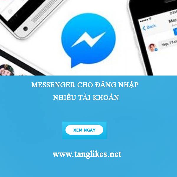 Đăng nhập tài khoản messenger