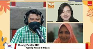 2 narasumber & host Rizal Wijaya