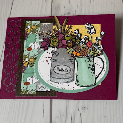Fall card using Country Home Stamp Set - 4