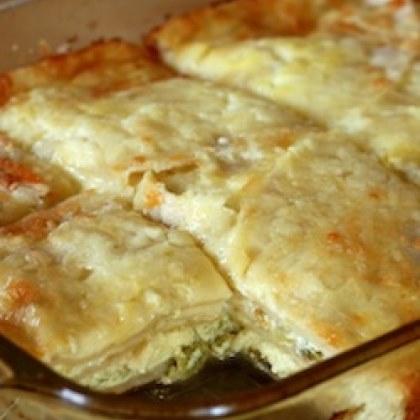 Chile Tortilla Eggbake