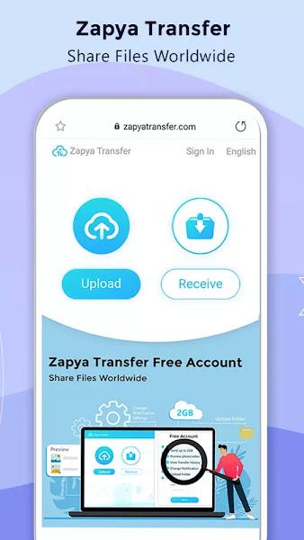 Zapya (MOD, VIP/Subscribed Unlocked)